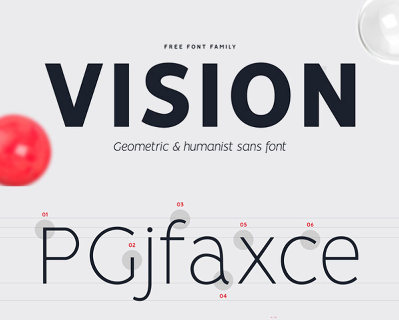 VISION-Free-Font