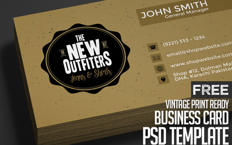 Vintage-Business-Card-PSD-Template