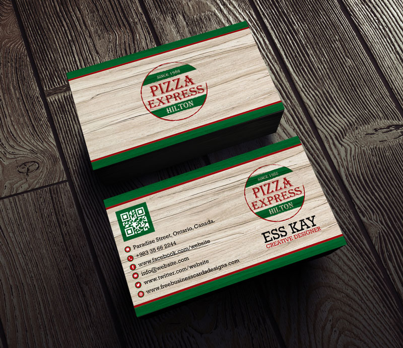 Vintage-Pizza-Free-Business-Card-Design-Template