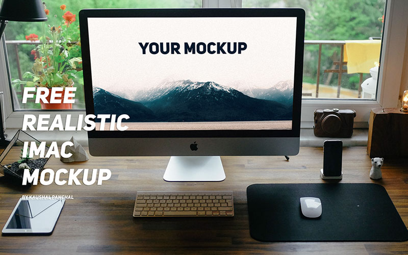 iMac-in-Home-Office-Mockup