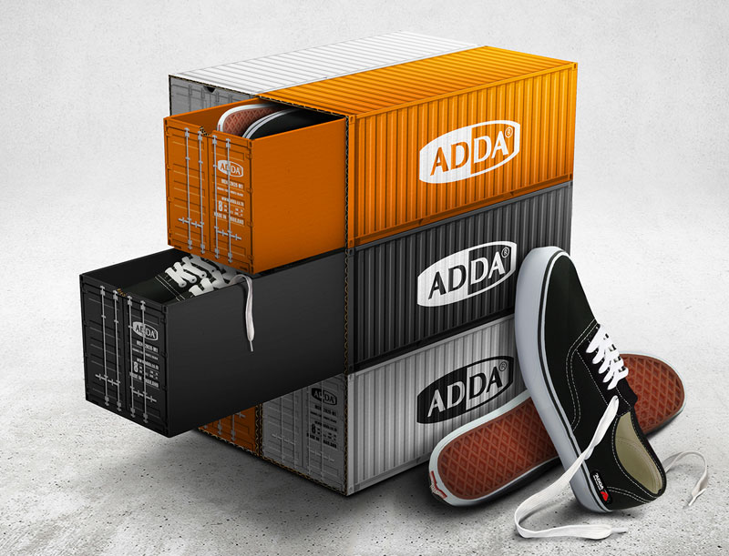 Adda-Container-Shoe-Box