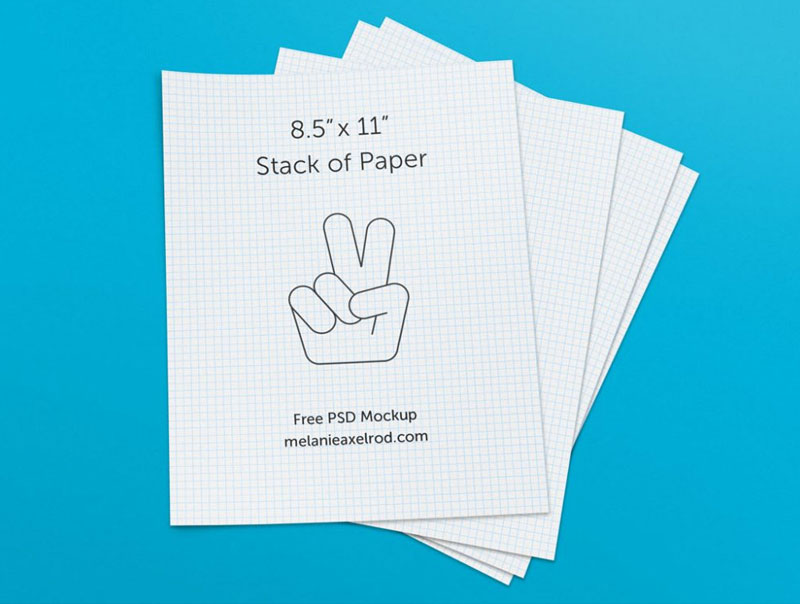 Free-Stack-of-Paper-Mockup
