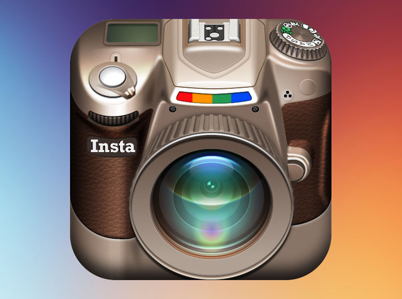Instagram-DSLR-iOS-Icon