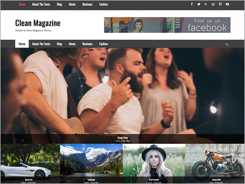 Clean-Magazine-Theme