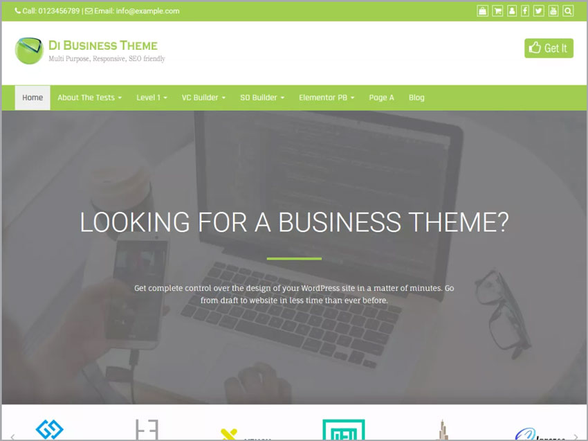 Di-Business-Free-WP-Theme