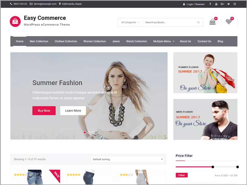 Easy-Commerce-WP-Free-Theme