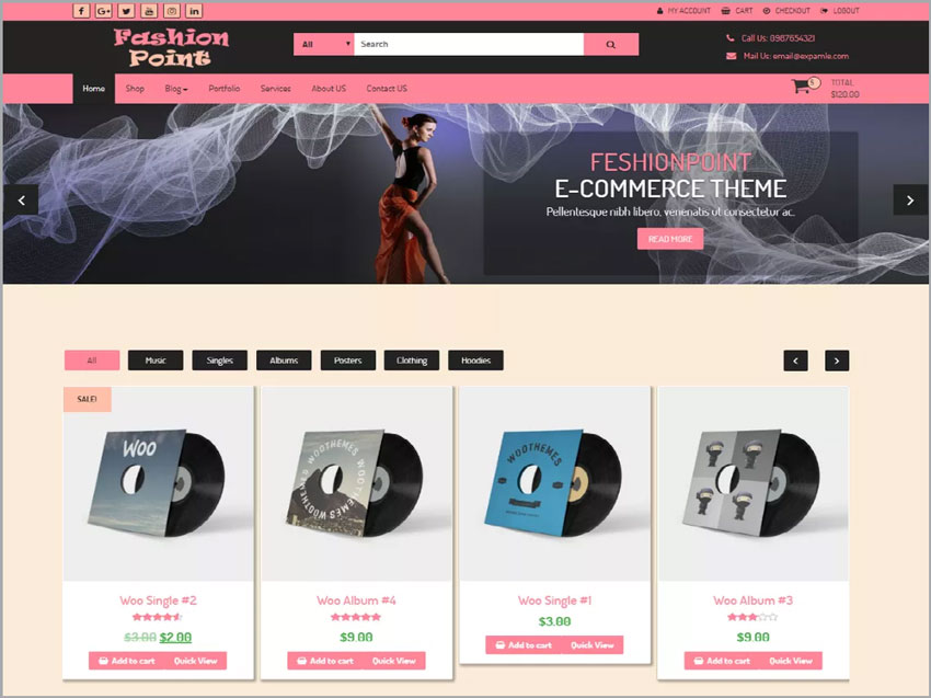 FashionPoint-Free-Wordpress-Theme