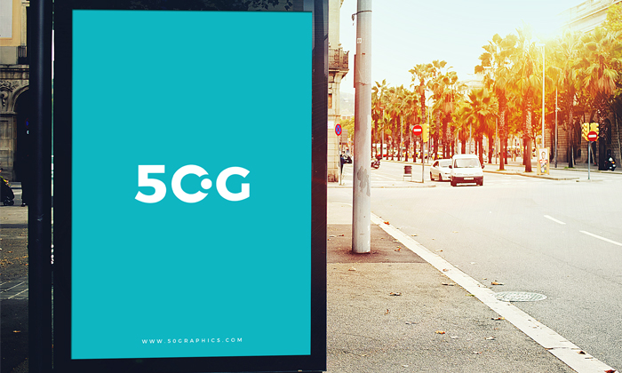 Free-Outdoor-Bus-Stop-Billboard-Mockup-For-Branding-&-Advertisement-600