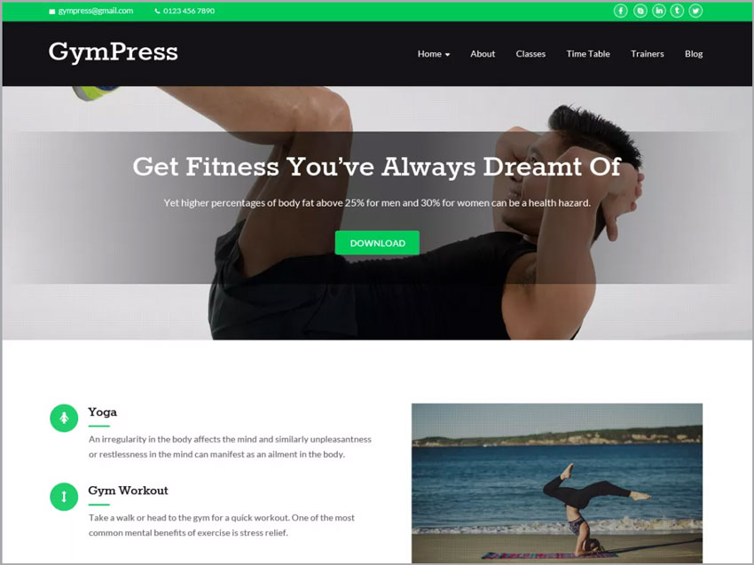 GymPress-Ecommerce-WP-Theme