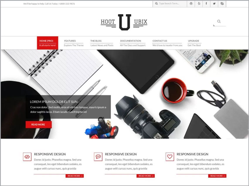 Hoot-Ubix-Free-WP-Theme