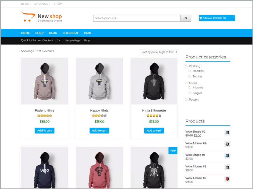 how to create an ecommerce website with wordpress 2017