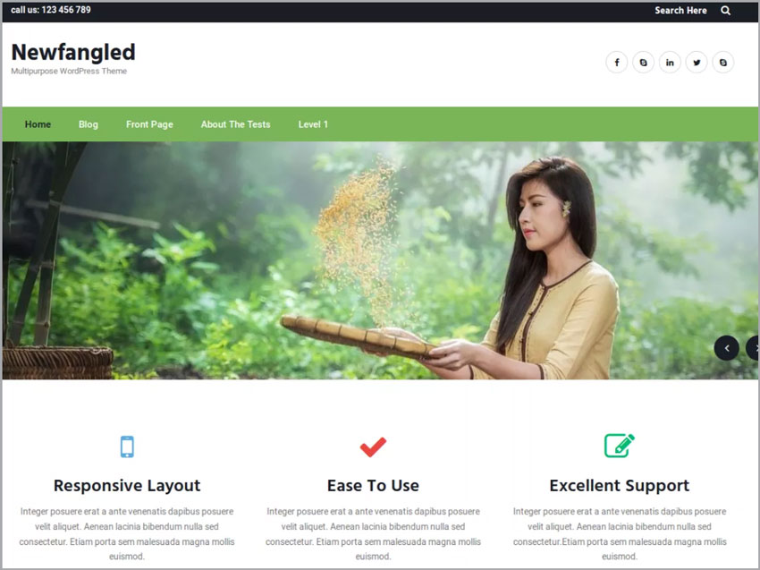 Newfangled-Free-Ecommerce-WP-Theme