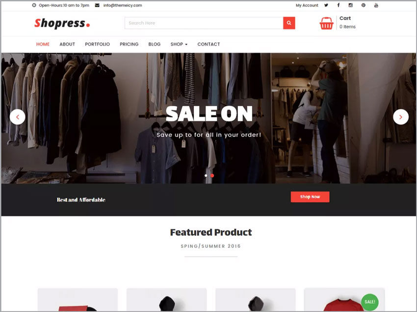 Shopress-Free-Ecommerce-WP-Theme
