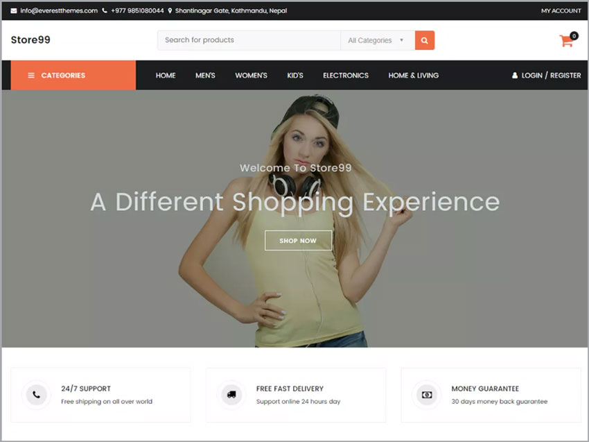 Store99-Wordpress-Ecommerce-Free-Theme