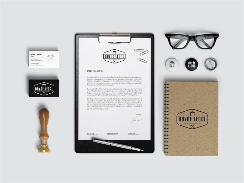 Bryce-Legal-Stationery-Branding-Identity
