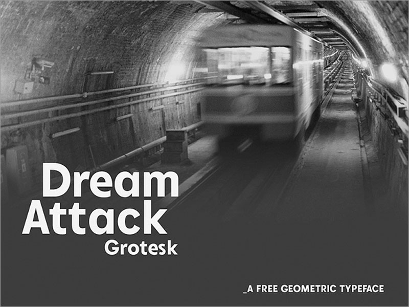Dream-Attack-Grotesk-Free-Font