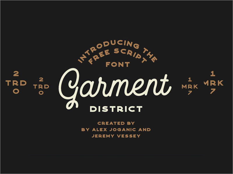 Garment-District-Free-Font