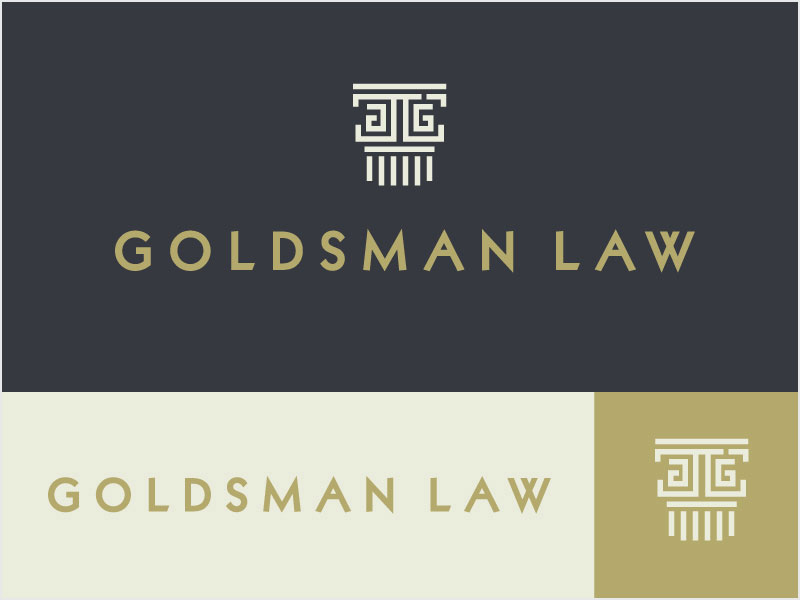 Goldsman-Law-Logo-Concept