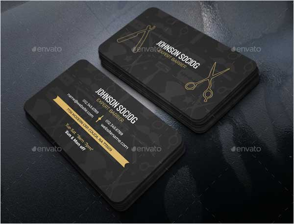 Barber-Business-Card