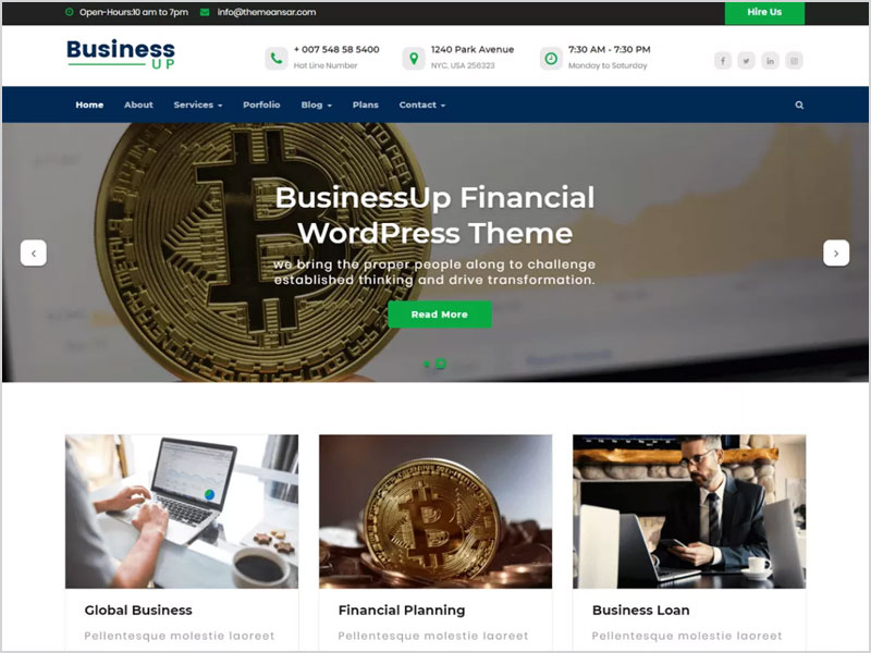 Businessup-Free-WP-Theme