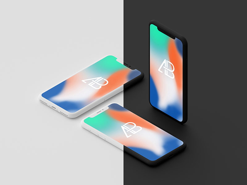 Clay-Iphone-X-Mockup-Vol.2