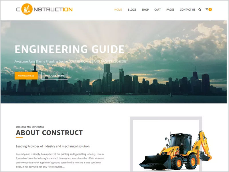 Construction-Lite-Free-WP-Theme