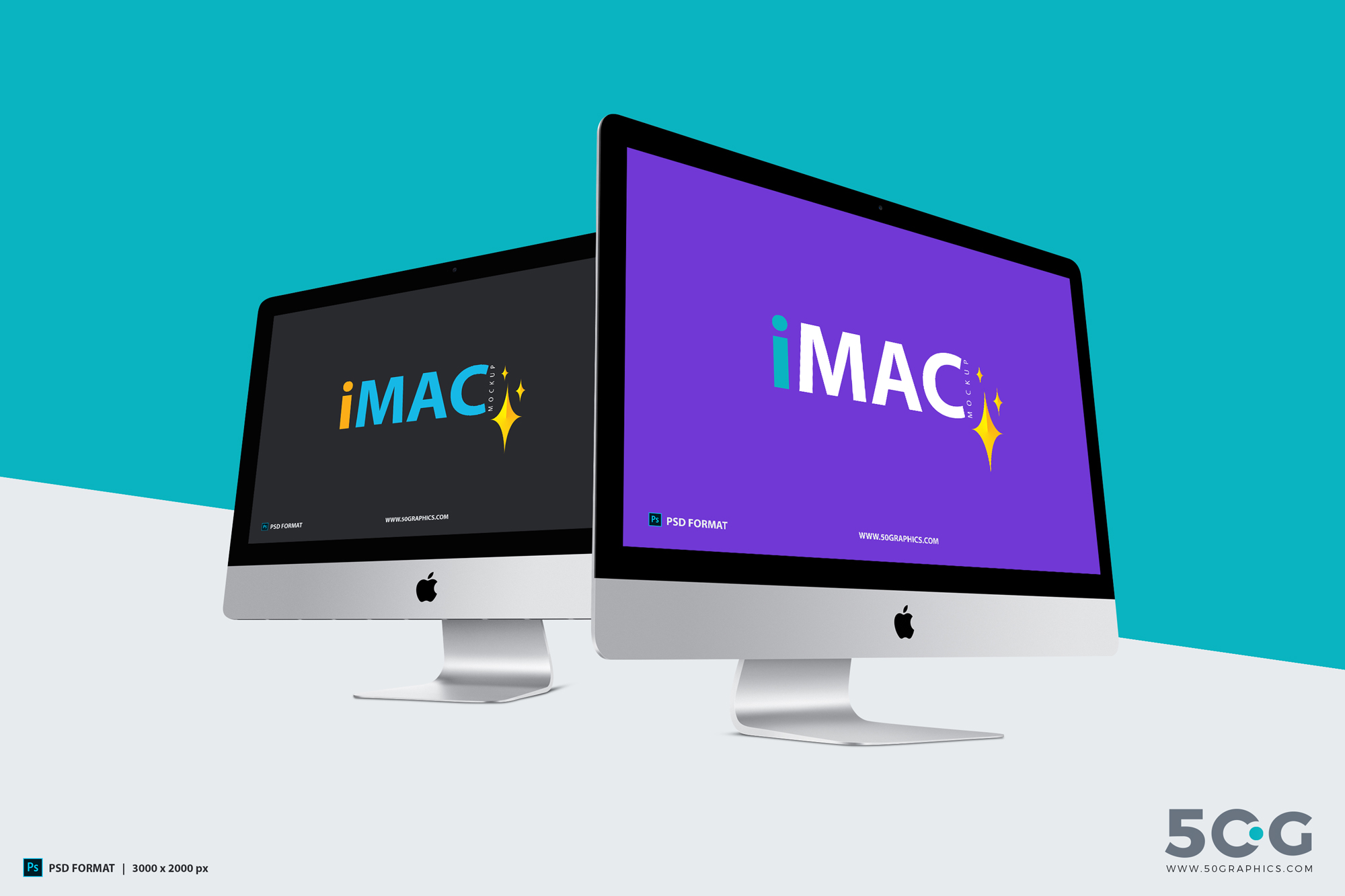 Free-iMac-Mockup-With-Two-Different-Perspective