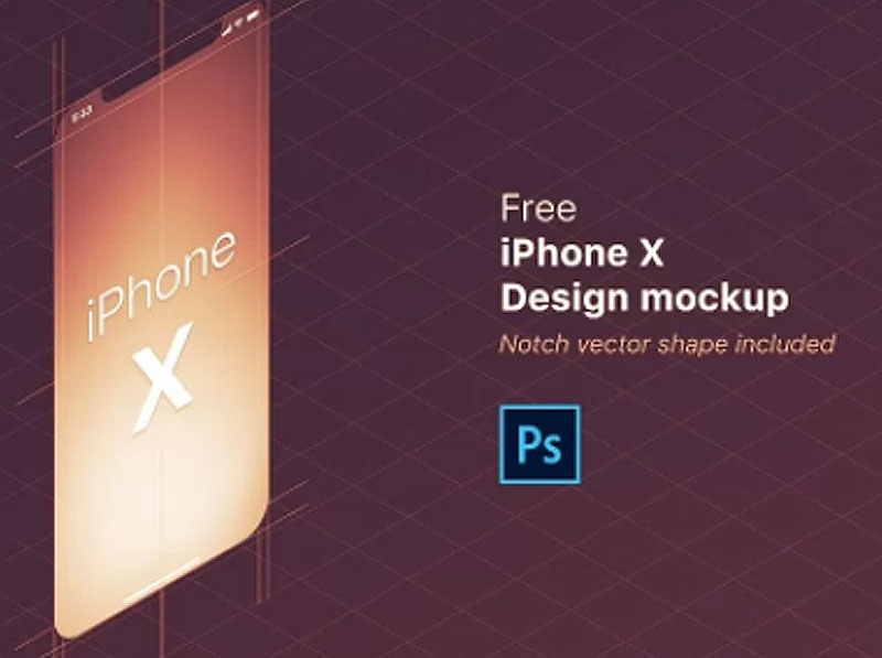 Free-iPhone-X-Design-Mockup