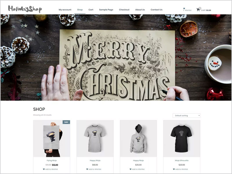 Holidayshop-Free-WP-Theme