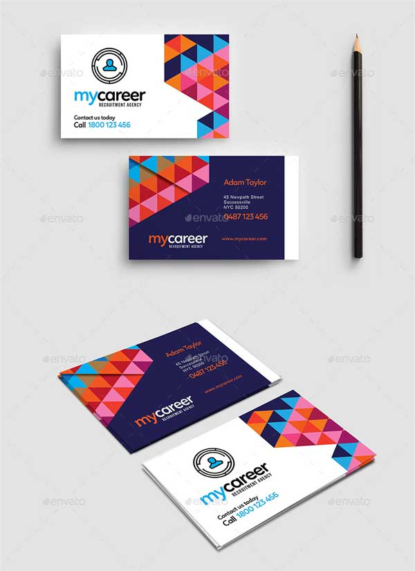 Recruitment-Agency-Business-Card-Template