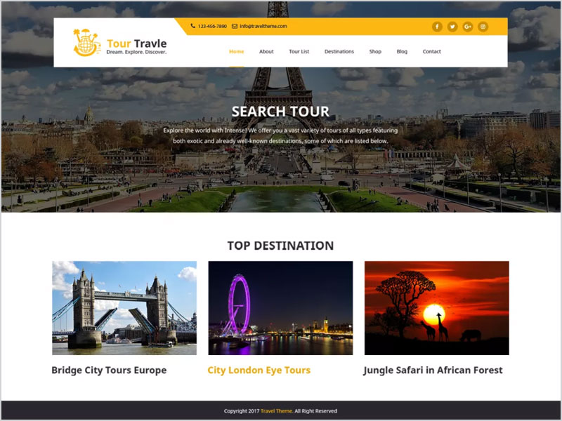 Tours-and-Travels-Free-WP-Theme