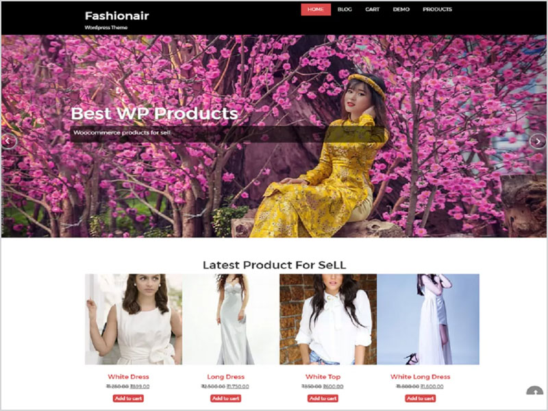 fashionair-Free-WP-Theme