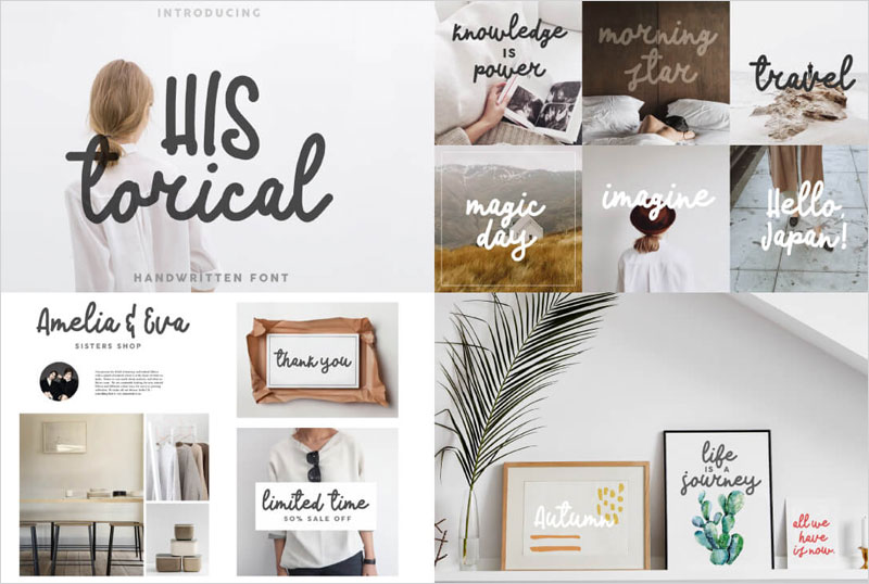 50-Script,-Display-&-Sans-Serif-Fonts-Collection-For-Creative-Designers-4