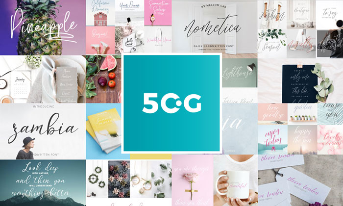 50-Script,-Display-and-Sans-Serif-Fonts-Collection-of-2018-for-Designers