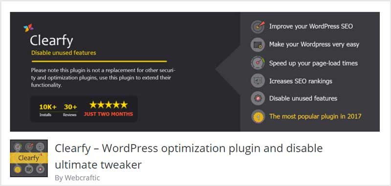 Clearfy-–-WordPress-optimization-plugin-and-disable-ultimate-tweaker