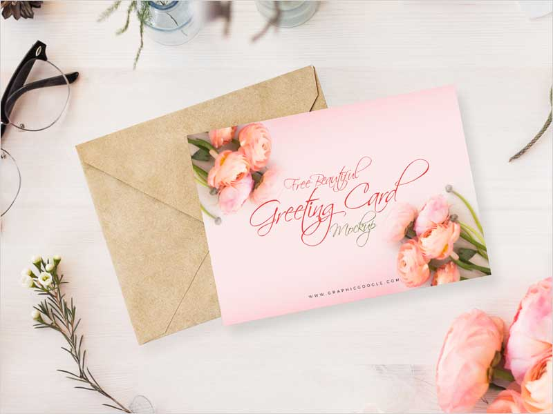 Free-Beautiful-Greeting-Card-Mock-Up-Psd