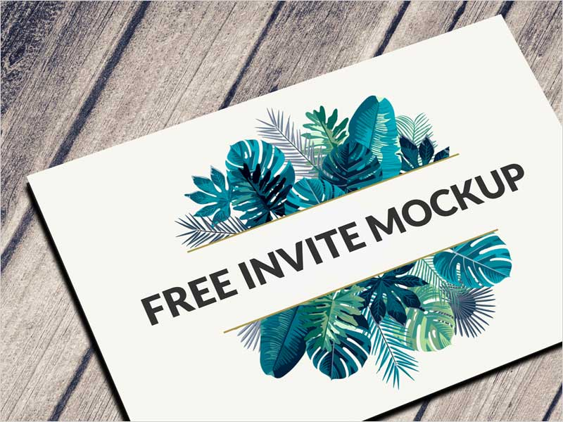 Free-Postcard-&-Invitation-Mockup-Psd-Download