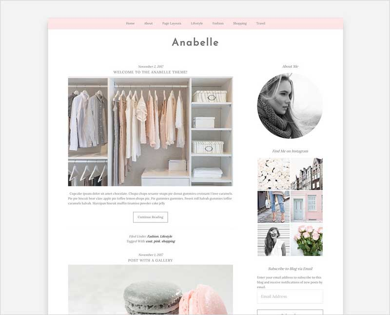 Anabelle-Wordpress-Genesis-Theme