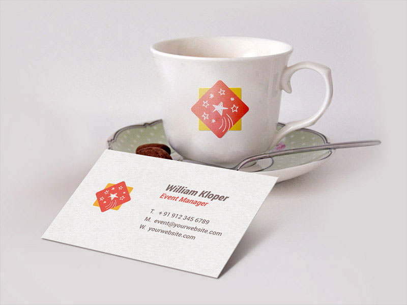 Business-Card-&-Coffee-Cup-Scene-Mockup