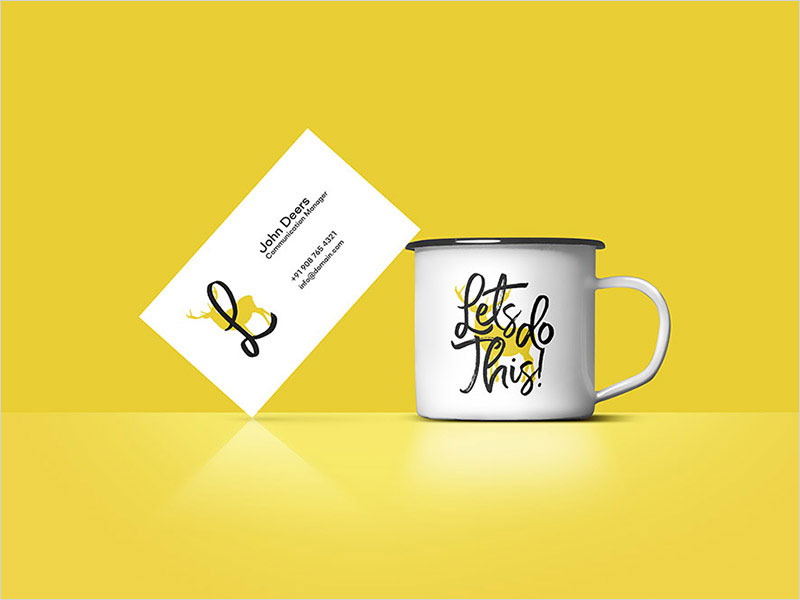 Business-Card-on-Coffee-Cup-Mockup