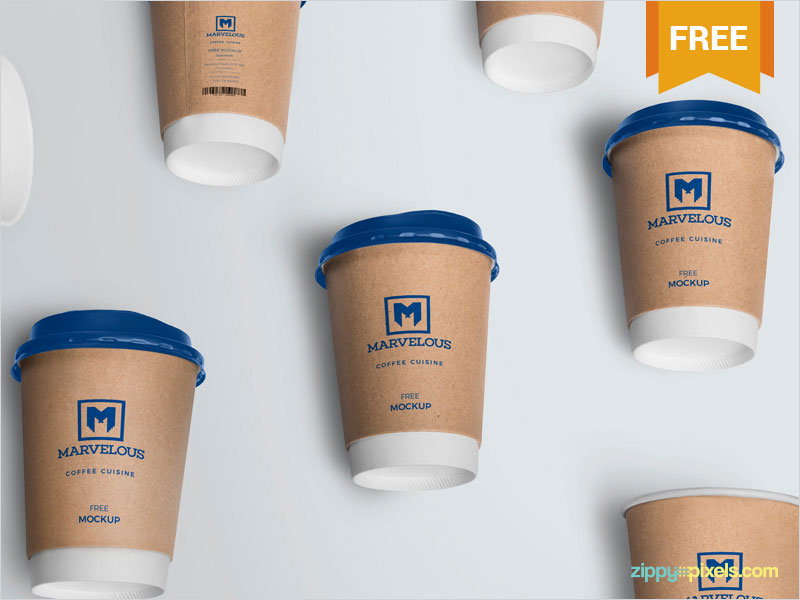 Free-Awesome-Coffee-Cup-Mockup