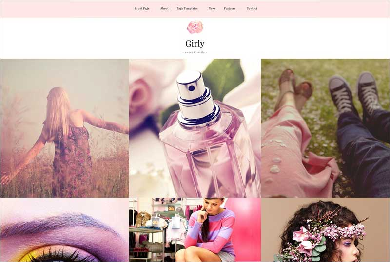 Girly---Feminine-WordPress-Theme