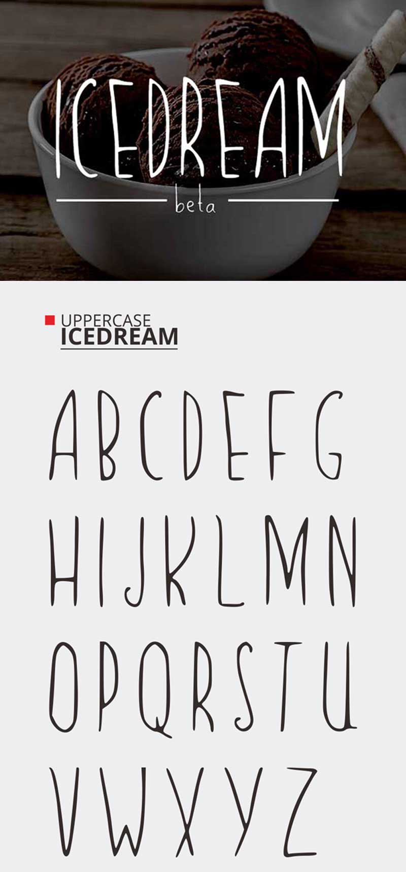 Icedream-Free-Font