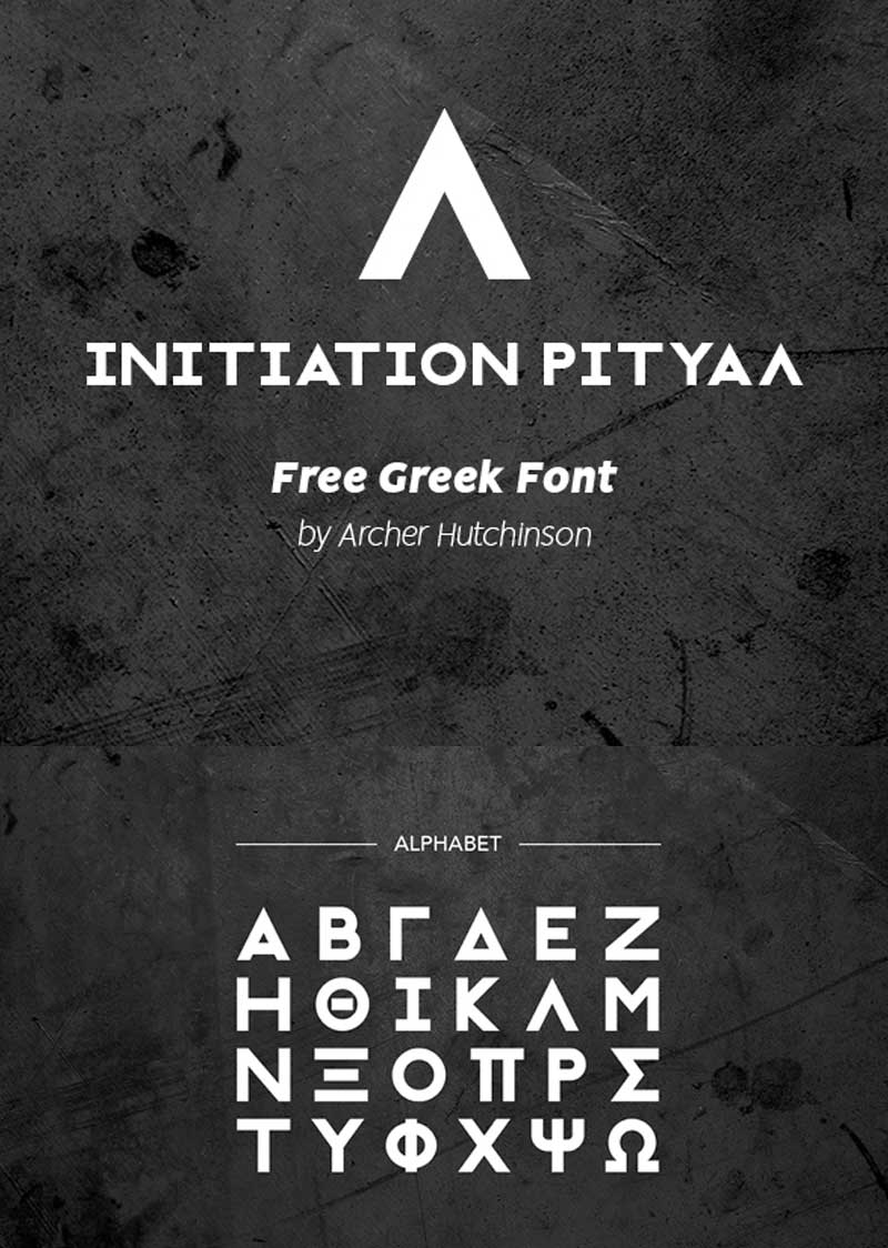 Initiation-Ritual-Free-Font-(Greek-Typeface)