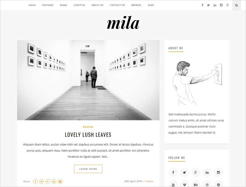 Mila-Blog-&-Shop-Theme-with-Forum