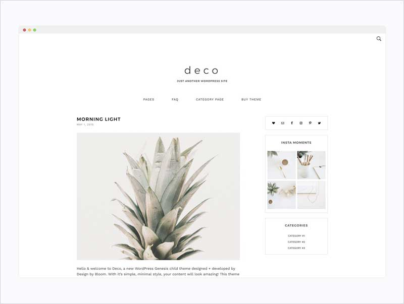 Minimal-Wordpress-Theme--Deco