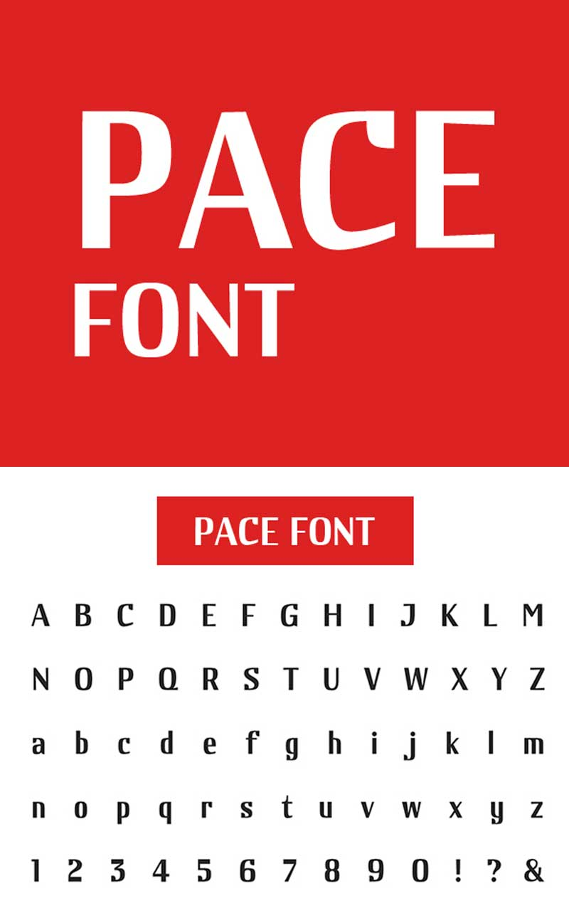 Pace-Free-Font