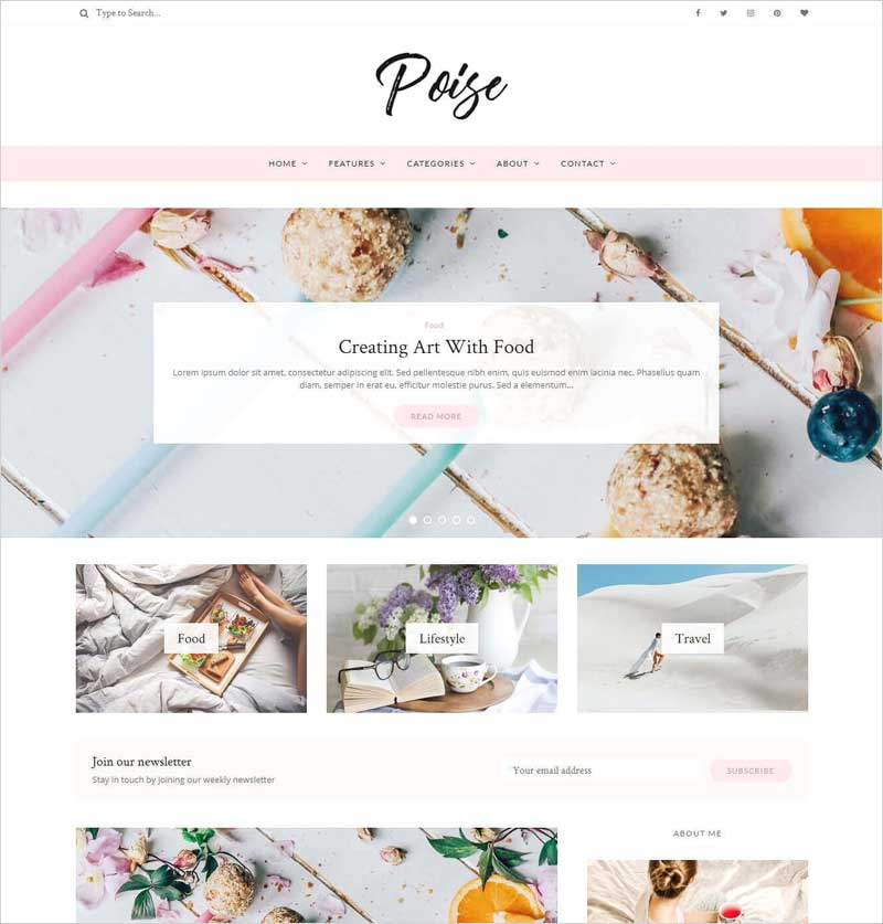 Poise---WordPress-Blog-Theme
