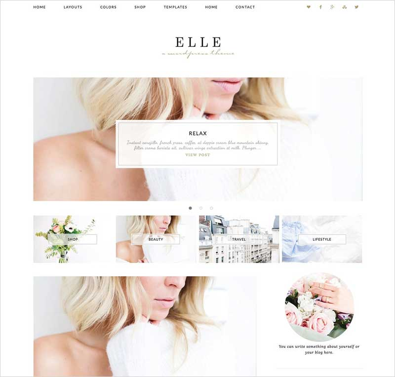 Wordpress-Theme-Elle