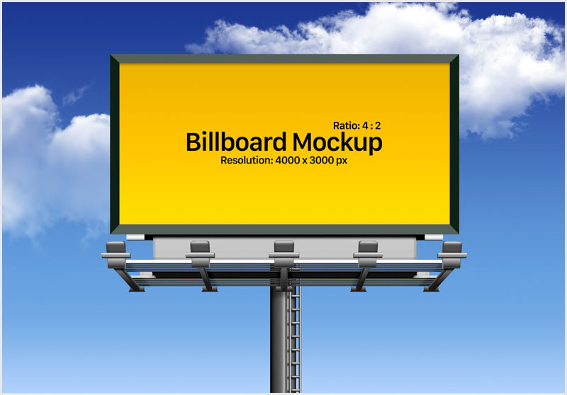 Free-Fully-Customizable-Outdoor-Advertising-Billboard-Mockup-PSD
